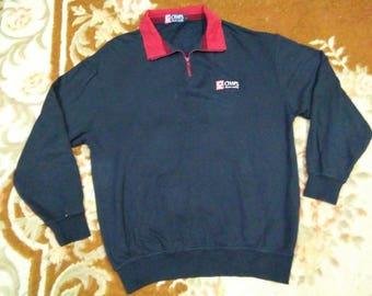 vintage CHAPS RALPH LAUREN sweatshirt embroidered logo size L