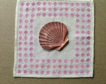 Vintage Swedish linen doily
