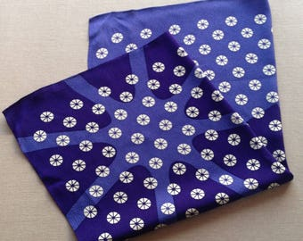 Vintage japanese purple scarf