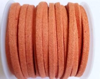 1 m cord 3mm orange