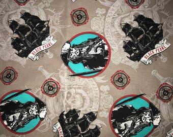 Disney Pirates Of The Caribbean Jack Sparrow Cotton Fabric