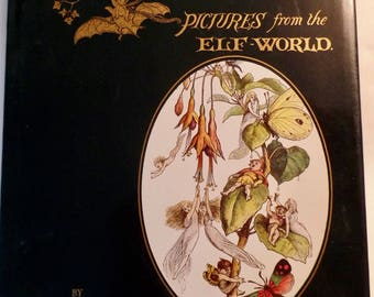 In Fairyland - Pictures from the Elf-World by Richard Doyle Hardcover Classic Children 1979 Beautiful Illustrations