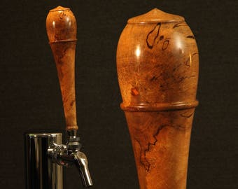 Beer Tap Handle, Spalted Carrotwood (CWS1004)