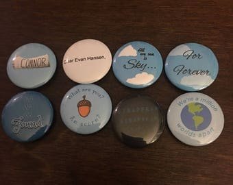 Dear Evan Hansen Pins - Set of 8