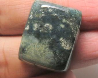 Natural Rectangle Ocean Jasper Cabochan - 24x20x8MM Loose Ocean Jasper Gemstone - Wire Wrapping Jasper Stone - Free Drilling