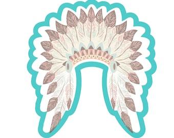Indian head dress cookie cutter