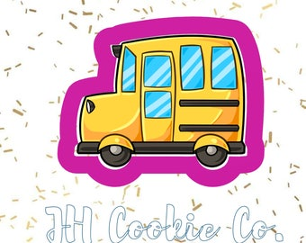 chubby bus cookie cutter