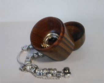 Small Wooden Ring Box