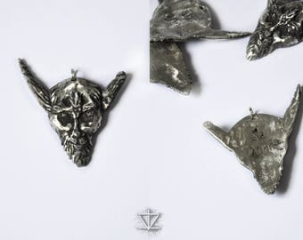 A tribute to Venom: Handcrafted Baphomet Pendant