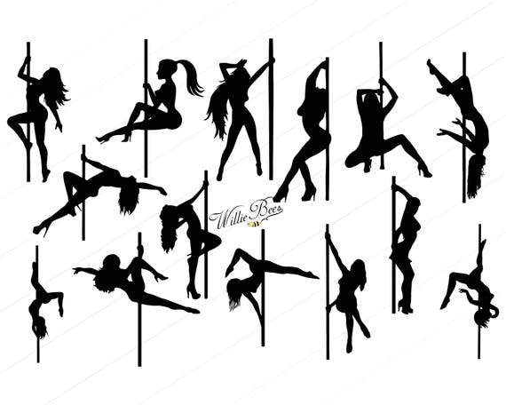 Sexy Ladies And Pole Dancers Clip Art  Sexy Lady SVG  Lady Dancer  Nude  Female  Exotic Lady  Women Strippers  Naked Ladies  INSTANT Download. Sexy Ladies And Pole Dancers Clip Art Sexy Lady SVG Lady