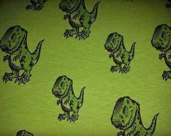 Jersey T-Rex - light green mix