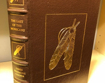 Easton Press Last of the Mohicans by Cooper 100 Greatest