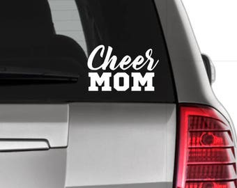 Sports Mom Decals