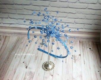 Wedding hair accessory. Hair Jewelry. Red and gold crown, Red hoop,Red Crown. Princess tiara. Wedding Tiara. Crystal crown, Wedding hoop
