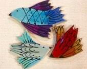 Wild Birds Handmade Ceram...