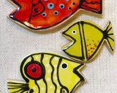 Tropical Fish Handmade Ce...