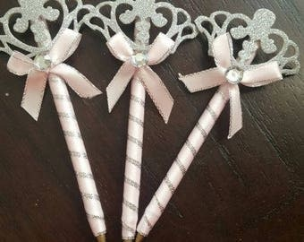 30 Baby Shower PRINCESSS pens Favors for Girl