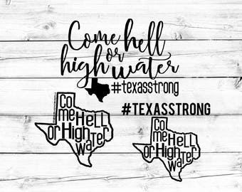Texas Strong SVG, Hurricane Harvey SVG, Texas Svg, Pray For Texas, Svg Bundle, Svg for Cricut, Svg for Silhouette, SVG Files