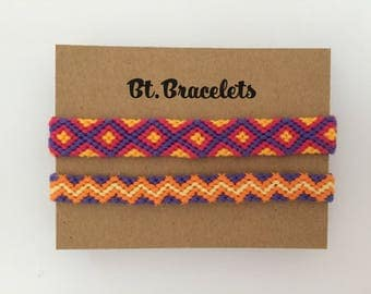 Bracelets yellow/purple 3.50