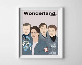 The Vamps Wonderland Magazine Cover 8x10 Art Print