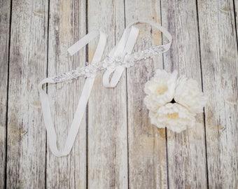Unique Wedding Dress Sashes Belts, Wedding Belts & Sashes, Custom Bridal Belts, Petal Bridal Sash, Rhinestone Bridal Belt, Belt. #Belt01