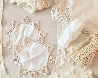 Vintage Crochet and Doilies Lot #2