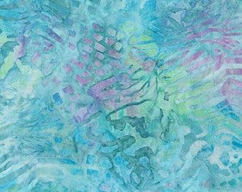 Robert Kaufman Tigerfish Batiks - Ripple Water Batik by McKenna Ryan - Sold by the Yard