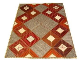 Persian Patchwork Kilim Rug PRH108, 150x200