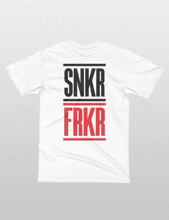 SNKR FRKR | 4 Colors | UNISEX 100% Cotton T-Shirt