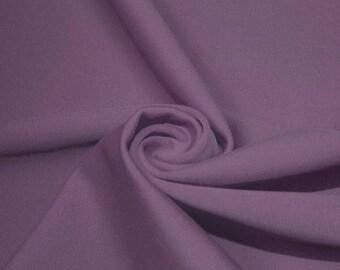 NEW! Mauve Color  Swimwear Fabric, Nylon Spandex Matte Tricot  4 Way Stretch
