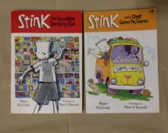 Lot of 2 Stink Children's Books