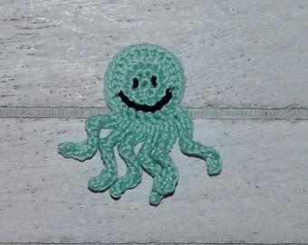 1 Octopus - Octopus - patches - crochet - application