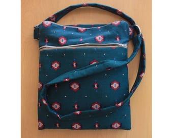 Patterned Crossbody Bag/Aztec Purse/Shoulder Bag