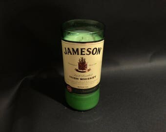 1 Liter vs 750ML Jameson Candle Irish Whiskey Bottle Soy Candle. Made To Order !!!!!!!