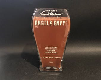 Angel's Envy Candle Bourbon Whiskey BOTTLE Soy Candle . Made To Order !!!!!