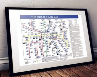 The Chelsea Tube Map