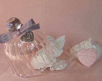 Mini Bell glass with fragrant decorations