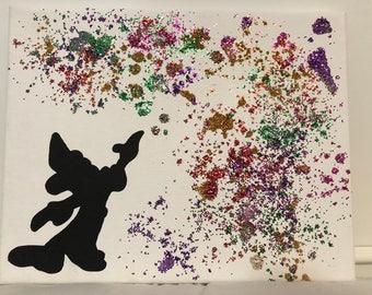 Sorcerer Mickey Canvas