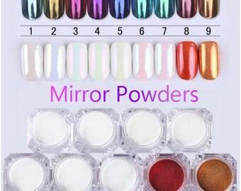 1g Mirror Chrome Glitter Nail Powder