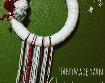 Custom Yarn Wreaths