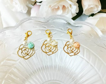 Spring Rose Charms