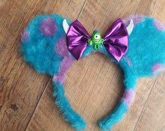 Sulley Disney Ears