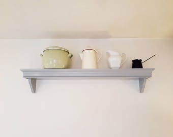 Kitchen shelf | Handmade traditional kitchen shelving by Beaufort & Dunham