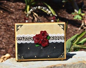 Handmade Vintage Cigar Box Purse