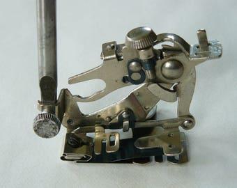 Original Vintage Low Lift Singer Ruffler Foot, USA, Craft, Part, Stitch, 99K, Low Shank