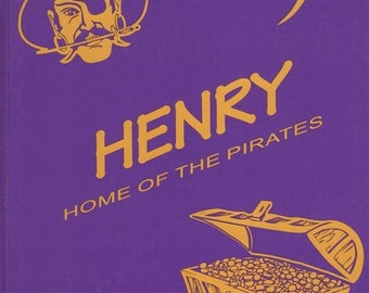 Henry Home of the Pirates 1998-1999 Yearbook Tennessee