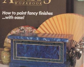 Decorative Artists Workbook October 1989 Patterns Inside/ Fancy Finishes