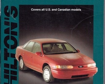 Chilton's 1986-95 Ford Taurus/Mercury Sable Wiring and Vacuum Diagrams Manual