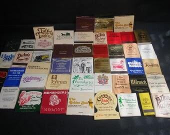 Advertising matchbooks from Pennsylvania