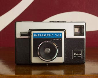 Kodak Instamatic X-15 - 126 film camera